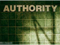 authority sign